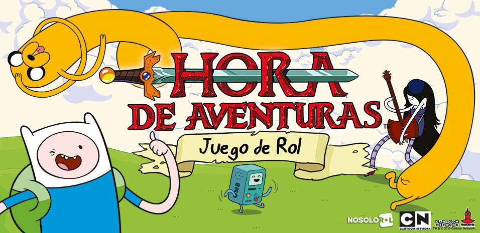 Banner Hora de Aventuras JdR